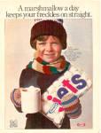 1977 Kraft Jets Freckles Marshmallow Ad