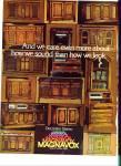 1960s Magnavox Decorator Stereo Ad Many Model
