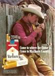 Marlboro Cigarettes Ad 1972 The Marlboro Man