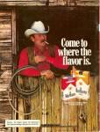 Marlboro Cigarettes Ad 1979 Wayne Mclaren Man