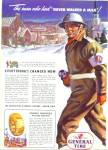 1943 General Tire Sector Protector Artwork Ad