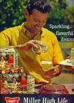 Miller High Life Beer Ad 1964