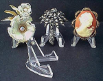 Display Stand Vintage Brooches