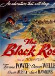 1950 Black Rose Tyrone Powers/orson Wells