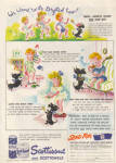 1942 Scott Tissue Kids Drafted To War Wwii Ad