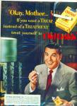 Old Golds Cigarettes - Dennis James - Ad