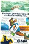 Vintage Tour Idaho Travel Ad