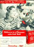 1956 Pall Mall Cigarettes Ad Smoking Fun