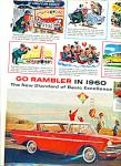 1960 Red Rambler Car Promo Ad