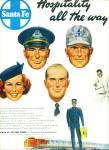 `1949 - Santa Fe System Lines Ad