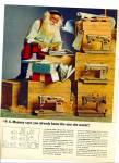 Singer Sewing Ad Santa - 23 Models Items