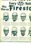 Firestone Tires Ad - 1953