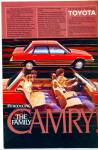 1983 Toyota Camry Car Ad Introducing