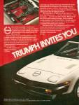Triumph Tr7 Auto Ad 1979
