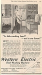 Western Electric Dish Washing Machine 1919