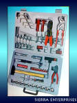 Brand New 100 Piece Tool Kit With Storage Case