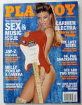 Playboy Magazine-april 2003-carmen Electra