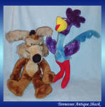 Road Runner And Wile Coyote Stuffed Animals