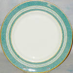 Haviland Green Mosaic Dinner Plate
