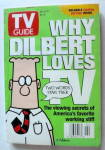 Tv Guide-january 11-17, 1997-why Dilbert Loves Tv