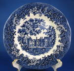 Plate Meakin Romantic England Blue Transferware Side Plate