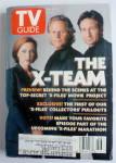 Tv Guide-november 15-21, 1997-the X-team