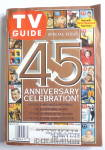 Tv Guide-april 4-10, 1998-45th Anniversary Celebration