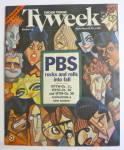 Tv Week-september 24-30, 1995-pbs Rocks & Rolls