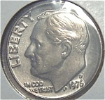 1976-d Roosevelt Dime Cut From Mint Set Coins
