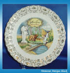 Yellowstone National Park Vintage Souvenir Plate