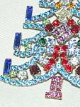 Huge Christmas Tree Pin - Prongset Jewels