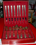 1847 Rogers Bros Is - 50 Pc Set W/ Box 8 + Settings