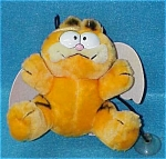 Window Suction Plush Angel Garfield Doll