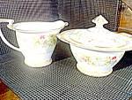 Noritake Ariana Sugar Bowl And Creamer Set