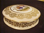 French Limoges Lidded Dresser Box