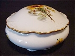 Limoges Chamart France Lidded Dresser Box
