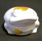 Takahashi Frog Lidded Porcelain Trinket Dish