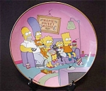 The Simpsons A Family For The 90's Plate