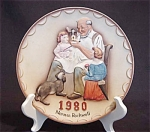 Norman Rockwell The Toymaker 1980 Plate