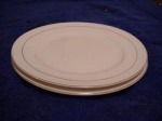 Edwin M. Knowles Dinner Plates