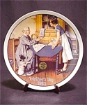 Le Norman Rockwell Mother's Day 1983 Plate