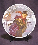 Le Norman Rockwell Christmas 1982 Plate