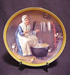 Norman Rockwell Colonials 1987 Le Plate