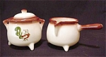 Brock Chanticleer Cauldron Cream & Sugar Bowl