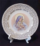 Crooksville Sacred Heart Collector Plate