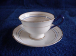 Crown China Cup And Saucer