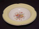 Johnson Bros. Pareek Floral Yellow Bowl