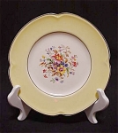 Johnson Bros. Pareek Floral Yellow Plate