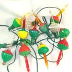 String Of Vintage Working Christmas Bubble Lights Plus Extras