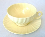 Franciscan Coronado Glossy Yellow Cup/saucer